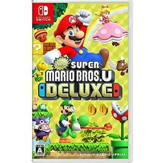 Nintendo Switch - newスーパーマリオブラザーズUデラックス