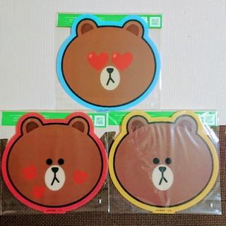 サントリー(サントリー)のLINE FRIENDS ブラウン オリジナルカッティングボード6枚セット (キャラクターグッズ)