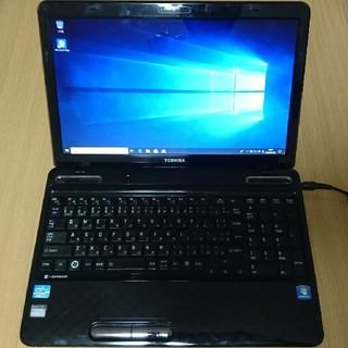 トウシバ(東芝)の東芝 ノートPC SSD 500G CORE i7(ノートPC)