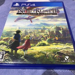 PlayStation4 - PS4 二ノ国II レヴァナントキングダム 早期購入特典未使用