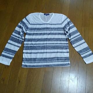 シマムラ(しまむら)のボーダーカットソー(Tシャツ/カットソー(七分/長袖))