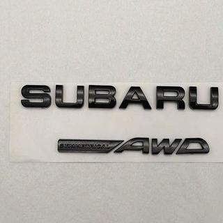 スバル(スバル)のスバル SUBARU STI ステッカー ブラックアウト エンブレム ステッカー(車外アクセサリ)