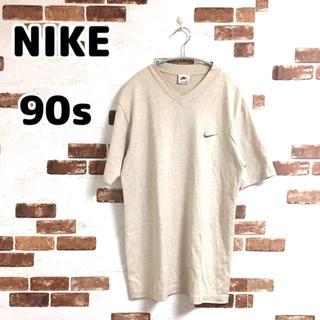 ナイキ(NIKE)の【vintage】NIKE スウォッシュロゴ 半袖Tシャツ(Tシャツ/カットソー(半袖/袖なし))
