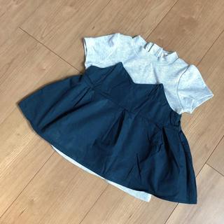 mamaraku  95cm ビスチェ Tシャツ◡̈⃝⋆*(Tシャツ/カットソー)