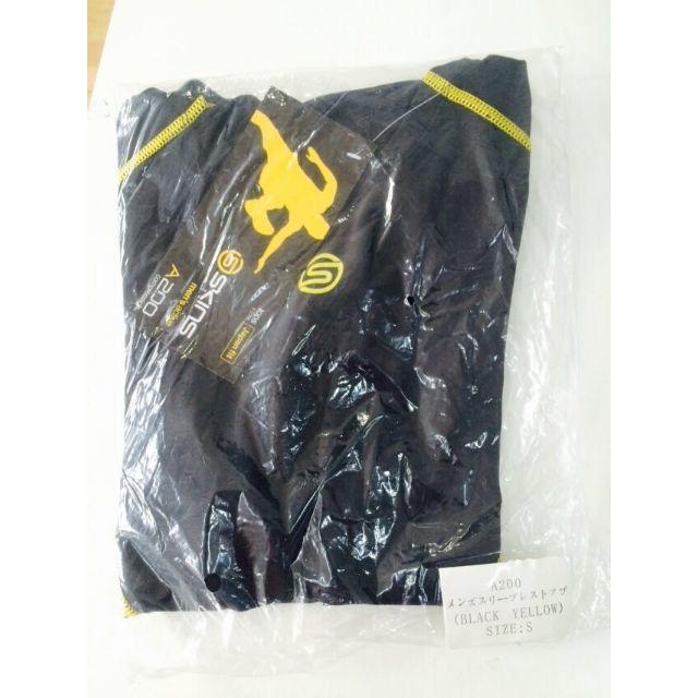 スキンズ A200 メンズスリーブレストップ BKYLサイズS スポーツ/アウトドアの自転車(ウエア)の商品写真