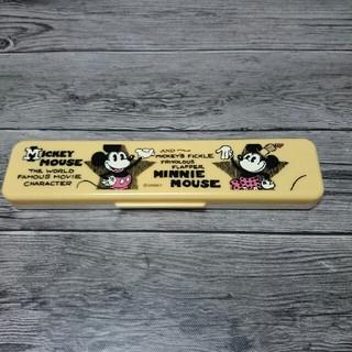 ディズニー(Disney)のミッキーマウス/ミニーマウス/食洗機対応コンビセット(弁当用品)