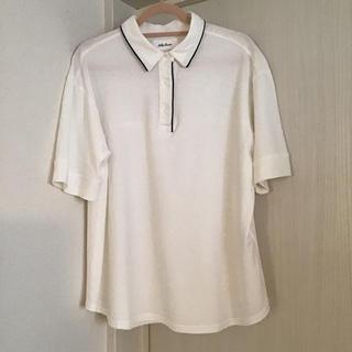 ミラオーウェン(Mila Owen)のミラオーウェン  パイピング ポロシャツ カットソー (Tシャツ(半袖/袖なし))