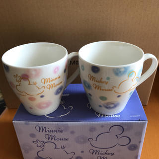Disney - ペアカップ マグカップ ディズニー ミッキー ミニー 非売品 第一生命