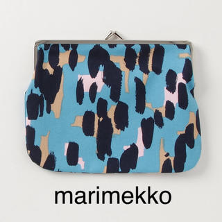 マリメッコ(marimekko)の完売品*marimekko がま口ポーチ (ポーチ)