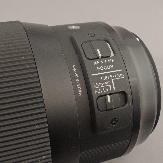SIGMA(シグマ)のシグマ EOS135mmF1.8DG(A) スマホ/家電/カメラのカメラ(レンズ(単焦点))の商品写真