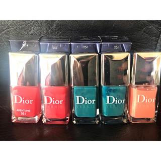 クリスチャンディオール(Christian Dior)のDior  ※1本からの値段  加工なし(マニキュア)