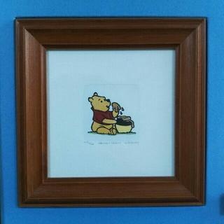 ディズニー(Disney)のレア ディズニー絵画 プーさん 絵画(絵画/タペストリー)