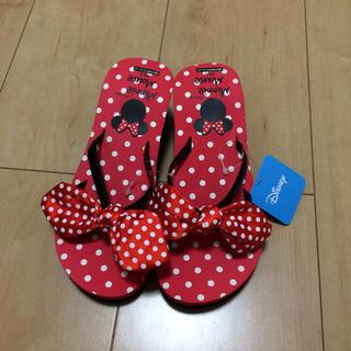 ディズニー(Disney)の新品☆ミニーヒールサンダル 20センチ(サンダル)
