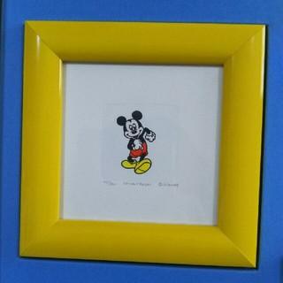ディズニー(Disney)のレア ディズニー絵画 ミッキー絵画(絵画/タペストリー)