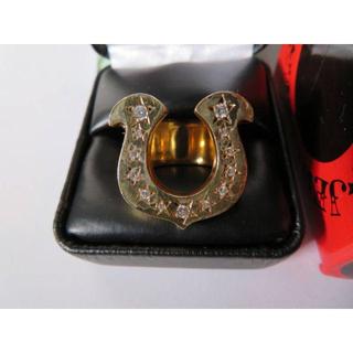 テンダーロイン(TENDERLOIN)のテンダーロイン 18K 美品 13号 ホースシュー 激レア 指輪 リング 定価1(リング(指輪))