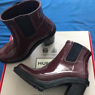 ハンター(HUNTER)のHUNTER レインブーツ ヒール(レインブーツ/長靴)