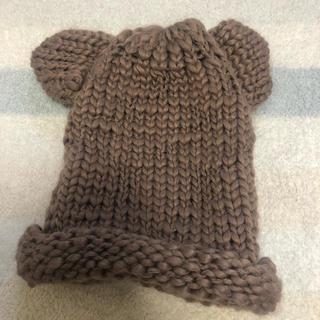シマムラ(しまむら)のニット帽 くまさん 赤ちゃん(帽子)