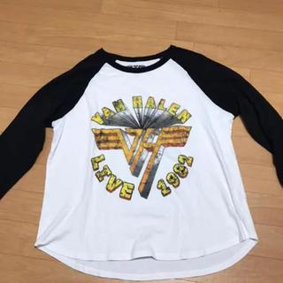 ジーユー(GU)の7分丈 ロゴティ(Tシャツ(長袖/七分))