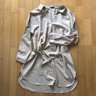 シマムラ(しまむら)の抜き襟カットソー(シャツ/ブラウス(長袖/七分))