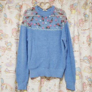 ジーユー(GU)のGU大きいサイズセーター(ニット/セーター)