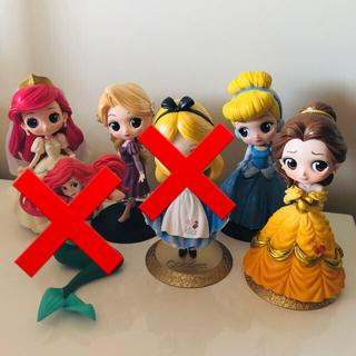 Disney -  Qposket 4体セット
