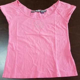 マリークワント(MARY QUANT)のTシャツ トップス MARY QUANT マリークヮント ピンク(Tシャツ(半袖/袖なし))