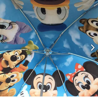 ディズニー(Disney)のディズニー実写版雨晴れ兼用折畳傘(傘)