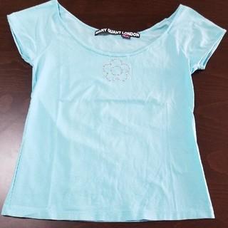 マリークワント(MARY QUANT)のTシャツ トップス MARY QUANT マリークワント 水色 ティーシャツ(Tシャツ(半袖/袖なし))