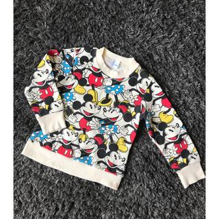 ディズニー(Disney)の♡ミッキー&ミニー トレーナー♡(Tシャツ/カットソー)