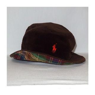 ラルフローレン(Ralph Lauren)の▪️90's【POLO】CORDUROY HAT(ハット)