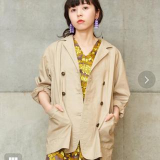 ドットアンドストライプスチャイルドウーマン(Dot&Stripes CHILDWOMAN)のdot&stripes childwoman 綿麻ジャケット(テーラードジャケット)
