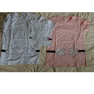 ディズニー(Disney)のペアルック ディズニーTシャツ(Tシャツ(半袖/袖なし))
