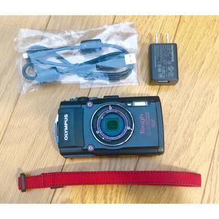 オリンパス(OLYMPUS)のオリンパス TG-4 防水タフカメラ【中古品】(コンパクトデジタルカメラ)