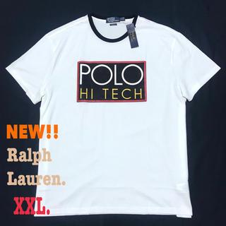 POLO RALPH LAUREN - XXL相当 レア 90s 復刻 ラルフローレン ハイテック Tシャツ XL 白
