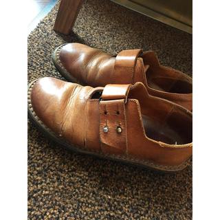 トリッペン(trippen)のトリッペン 茶 レザー靴(ローファー/革靴)
