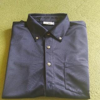 アディダス(adidas)のポロシャツ「紺」(ポロシャツ)