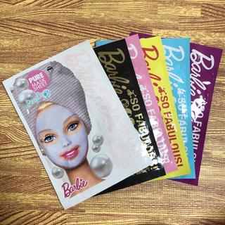 バービー(Barbie)のBarbie フェイスパック6枚セット(パック/フェイスマスク)
