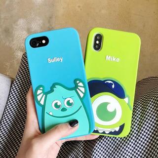 ディズニー(Disney)のモンスターズインク サリー マイク ディズニー iphoneケース 携帯ケース(iPhoneケース)