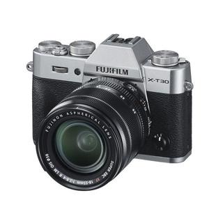 フジフイルム(富士フイルム)の新品 未開封 FUJIFILM X-T30 キット 18-55mm シルバー(ミラーレス一眼)