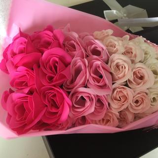 母の日のプレゼントに最適♡ソープフラワー花束(その他)