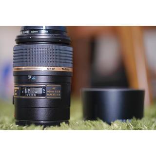 キヤノン(Canon)のマクロレンズ Canon 90mm レンズ 単焦点 タムキュー (レンズ(単焦点))