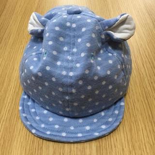 シマムラ(しまむら)のベビー   帽子   新生児〜1歳前後  サイズ44㎝(帽子)