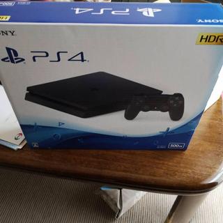 PS4 500GB 黒