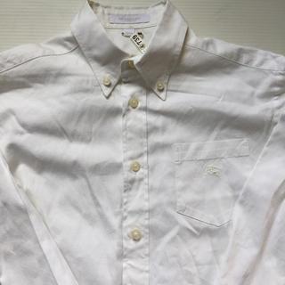 バーバリー(BURBERRY)のburberry 白シャツ 140 子供服 胸にマークあり(ブラウス)