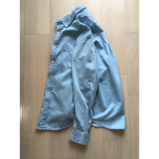 ジーユー(GU)のGUデニムシャツ  メンズ  S(シャツ)