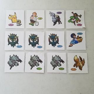 ポケモン(ポケモン)の第167弾 ポケモンパンのシール12枚セット(キャラクターグッズ)
