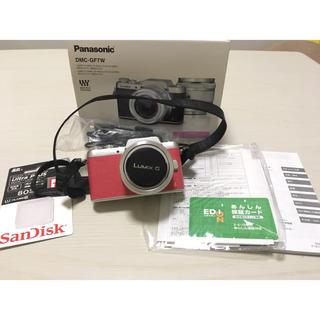 パナソニック(Panasonic)の完備品❤️望遠レンズ付き❤️ Panasonic LUMIX GF7(ミラーレス一眼)