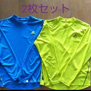 アディダス(adidas)のアディダス☆アンダーシャツ「2枚セット」(トレーニング用品)