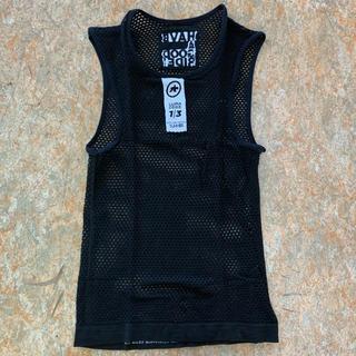 2019新作 アソススキンフォイル サマーベースレイヤー 袖なし サイズ1(M)(ウエア)