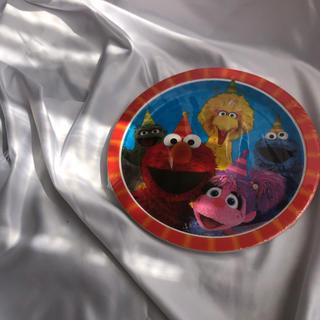 セサミストリート(SESAME STREET)のアメリカで購入 セサミストリート 紙皿(キャラクターグッズ)
